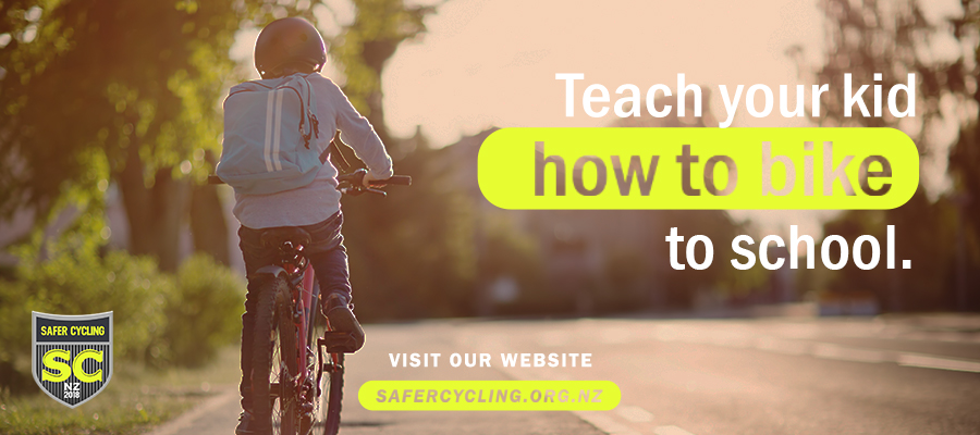 Teach your child how to bike to school